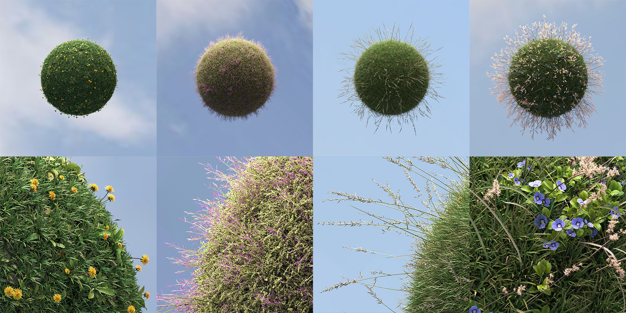 Grass Planets