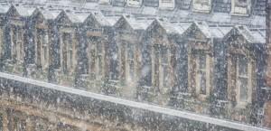 Waterloo St Rooftop Snow